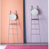 Scaletta Decorativa con Specchio in Metallo (161 cm) Neo, immagine in miniatura 2
