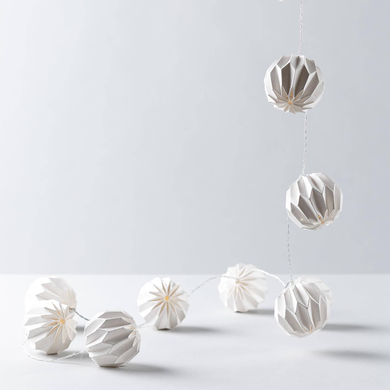 Ghirlanda Decorativa LED Hexa, immagine della galleria 1