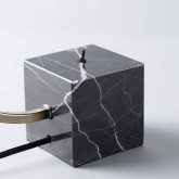 Lampada da Tavolo in Marmo e Ferro Holli, immagine in miniatura 6