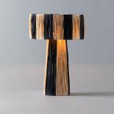 Lampada da Tavolo in Rattan Liana, immagine in miniatura 3