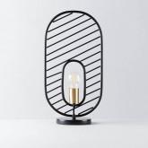 Lampada da Tavolo in Acciaio e Marmo Nima, immagine in miniatura 1