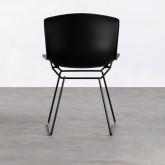 Sedia da Pranzo in Polipropilene e Metallo Circus, immagine in miniatura 4