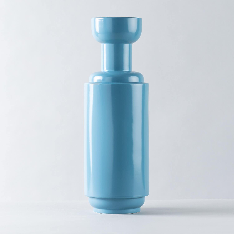 Vaso Dolomitico Yoco Blu, immagine della galleria 1