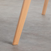 Tavolo da Pranzo Rettangolare in MDF e Legno (180x90 cm) Fery, immagine in miniatura 5