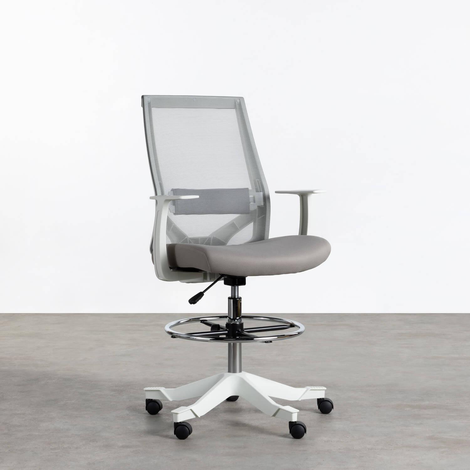 Sedia da Ufficio Ergonomica e Regolabile Gaury, immagine della galleria 1