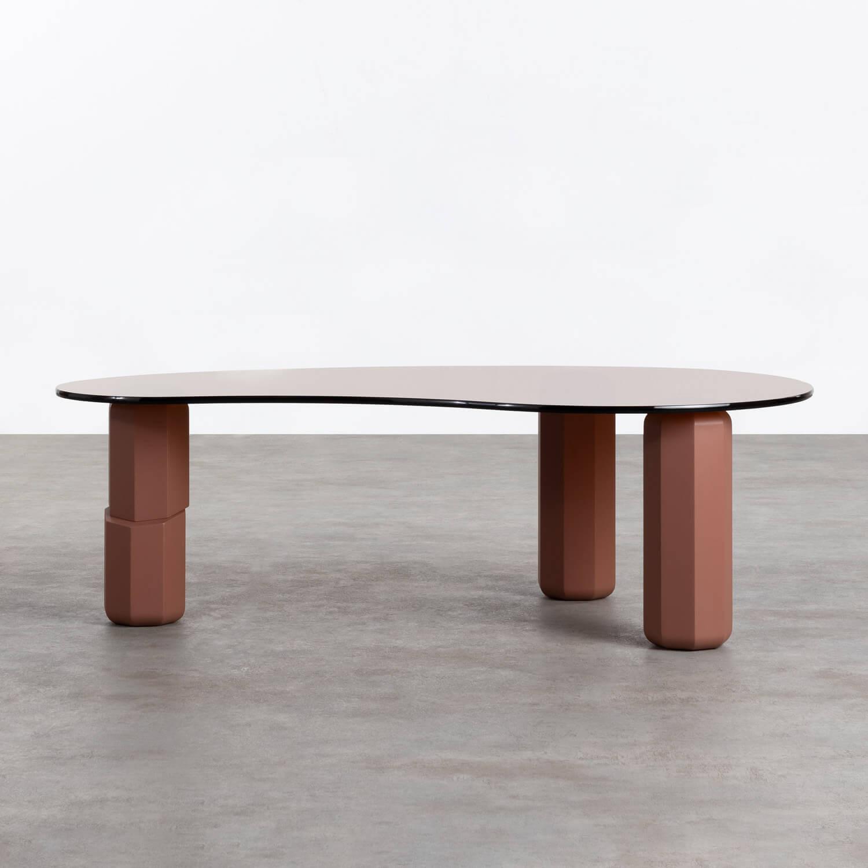 Tavolino in Cristallo e MDF Crima, immagine della galleria 1