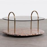 Tavolino da Caffé Quadrato in Cristallo (80x80 cm) Eity, immagine in miniatura 1