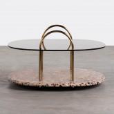 Tavolino da Caffé Quadrato in Cristallo (80x80 cm) Eity, immagine in miniatura 3
