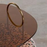 Tavolino da Caffé Quadrato in Cristallo (80x80 cm) Eity, immagine in miniatura 4