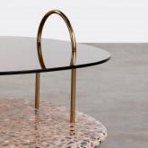 Tavolino da Caffé Quadrato in Cristallo (80x80 cm) Eity, immagine in miniatura 5