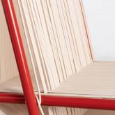 Sedia Outdoor in PVC e Acciaio Aki, immagine in miniatura 4