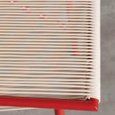 Sedia Outdoor in PVC e Acciaio Aki, immagine in miniatura 6