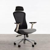 Sedia da Ufficio con poggiatesta e Regolabile Driel, immagine in miniatura 1