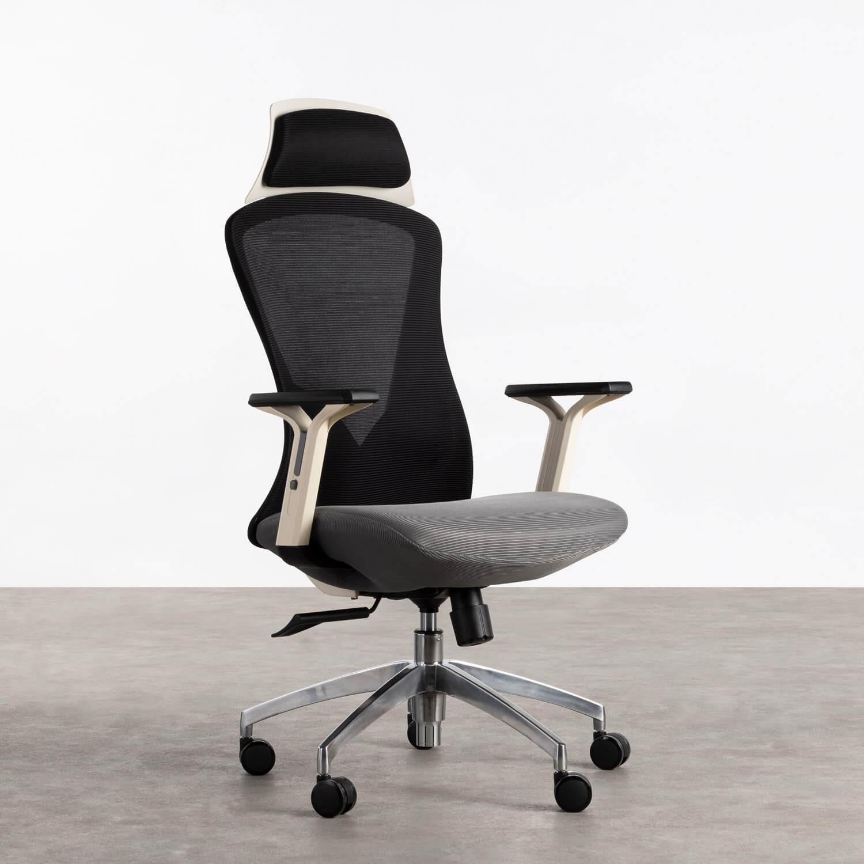 Sedia da Ufficio con poggiatesta e Regolabile Driel, immagine della galleria 1