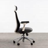 Sedia da Ufficio con poggiatesta e Regolabile Driel, immagine in miniatura 4