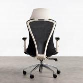 Sedia da Ufficio con poggiatesta e Regolabile Driel, immagine in miniatura 5