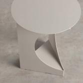 Tavolo Ausiliario Rotondo in Acciaio (Ø38,5 cm) Loam, immagine in miniatura 4