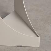 Tavolo Ausiliario Rotondo in Acciaio (Ø38,5 cm) Loam, immagine in miniatura 6