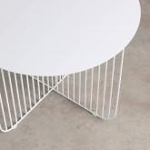 Tavolino Rotondo in Acciaio (Ø55 cm) Orev, immagine in miniatura 3