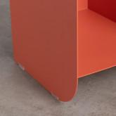 Tavolo Ausiliare con Vano Contenitore in Acciaio (37x36 cm) Xel, immagine in miniatura 5