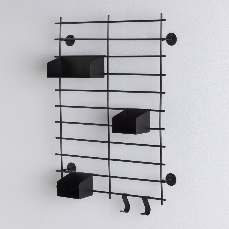 Scaffale da Parete in Acciaio (60x45 cm) Calap, immagine della galleria 1