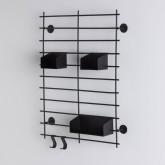 Scaffale da Parete in Acciaio (60x45 cm) Calap, immagine in miniatura 2