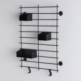 Scaffale da Parete in Acciaio (60x45 cm) Calap, immagine in miniatura 3
