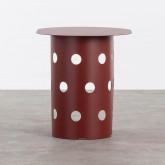 Tavolo Ausiliare Ovale (38x52 cm) in Acciaio Maop, immagine in miniatura 3
