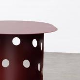 Tavolo Ausiliare Ovale (38x52 cm) in Acciaio Maop, immagine in miniatura 6