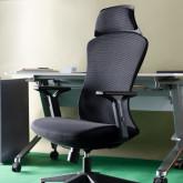 Sedia da Ufficio con Poggiatesta e Regolabile Dera, immagine in miniatura 2