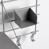 Scaffale da Parete in Acciaio (60x86 cm) Calap, immagine in miniatura 5