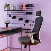 Sedia da Ufficio con poggiatesta e Regolabile Driel, immagine in miniatura 2