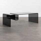 Tavolino Rettangolare in Cristallo Temperato (120x60 cm) Tida, immagine in miniatura 1