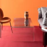 Tavolino Rettangolare in Cristallo Temperato (120x60 cm) Lidon, immagine in miniatura 2