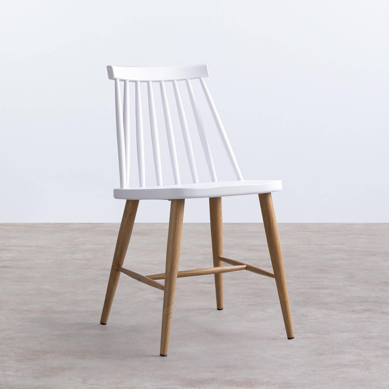 Sedia da Pranzo Polipropilene y Metal Emi, immagine della galleria 1