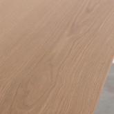 Tavolo da Pranzo in MDF e Metallo (160x90 cm) Velm, immagine in miniatura 6