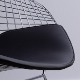 Sedia in Acciaio Amber Top, immagine in miniatura 4