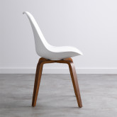 Sedia in Polipropilene e Legno Future Wood, immagine in miniatura 3