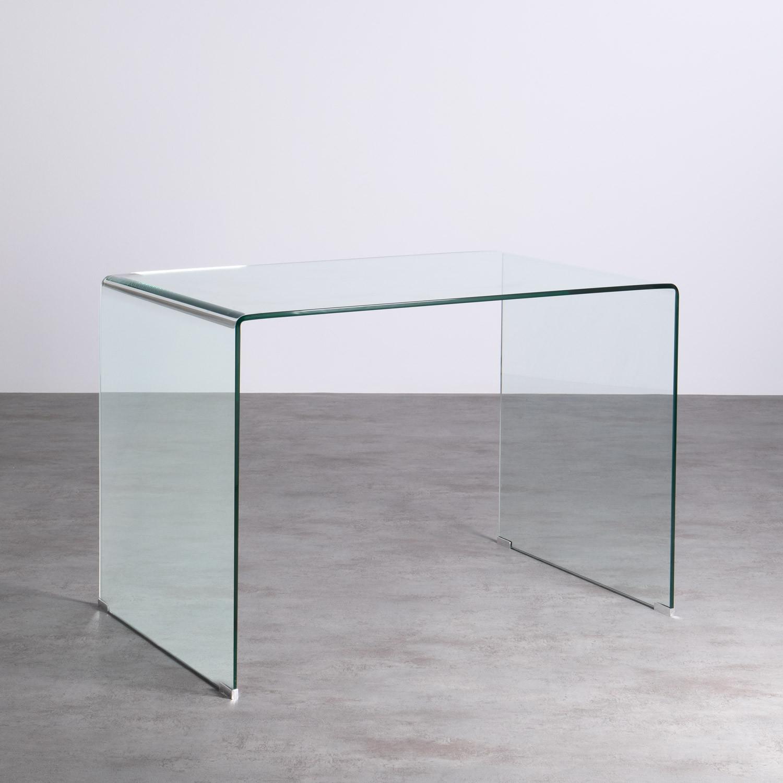 Consolle in Vetro Temperato (110x70 cm) Mellea, immagine della galleria 1