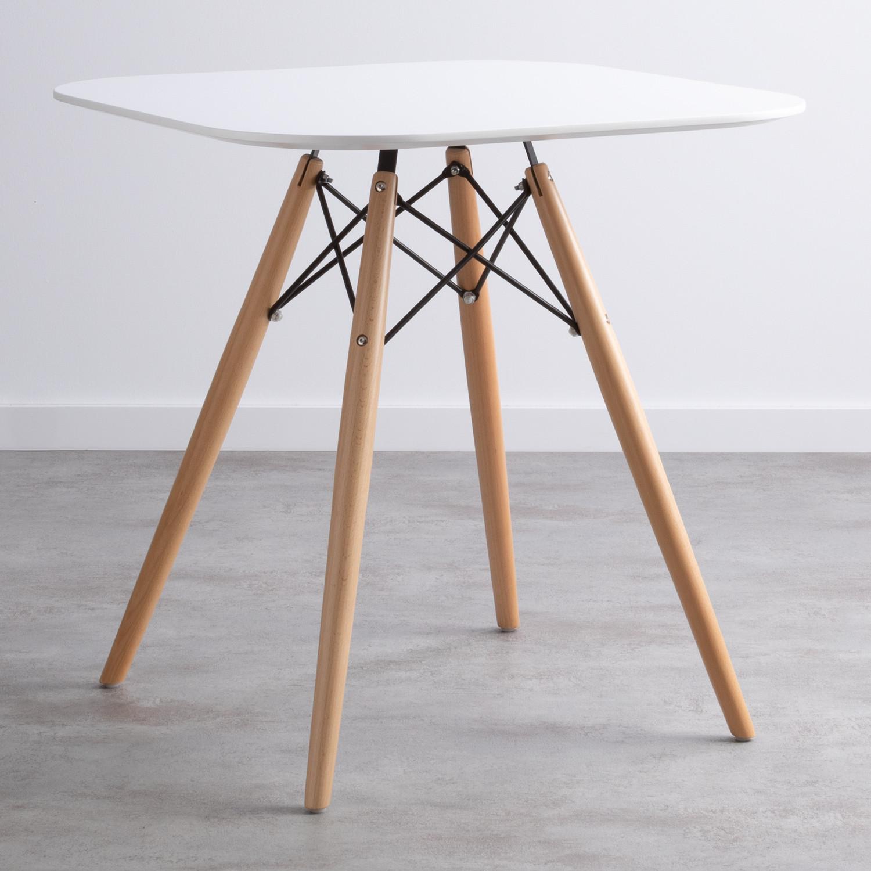 Tavolo NORDIC FINE 70x70, immagine della galleria 1