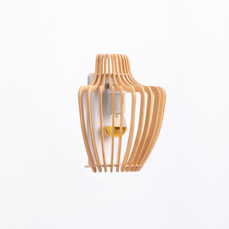 Lampada da Parete in Legno Glia, immagine della galleria 1