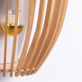Lampada da Parete in Legno Glia, immagine in miniatura 4