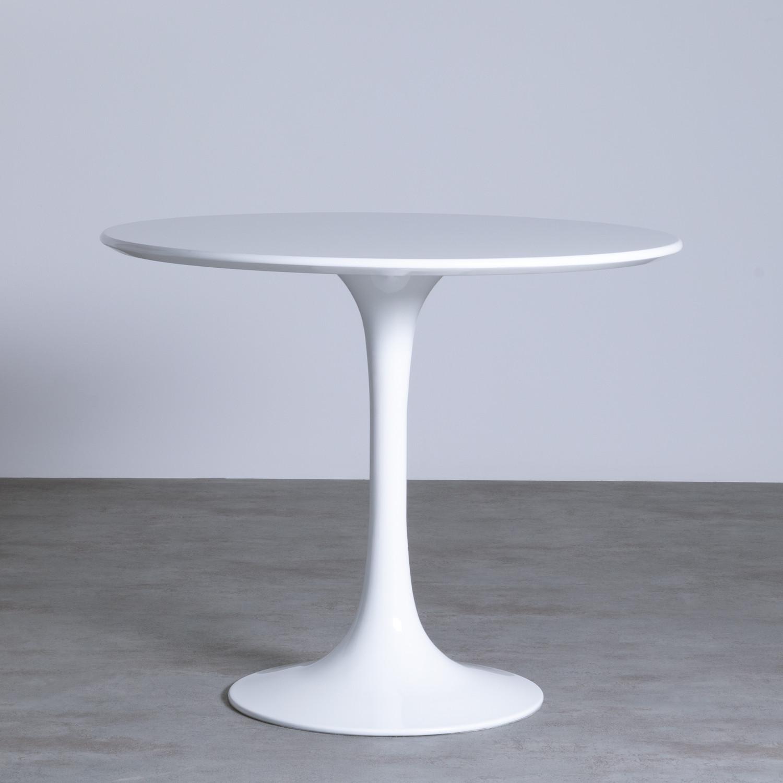 Tavolo FREYA 90 - MDF -, immagine della galleria 1