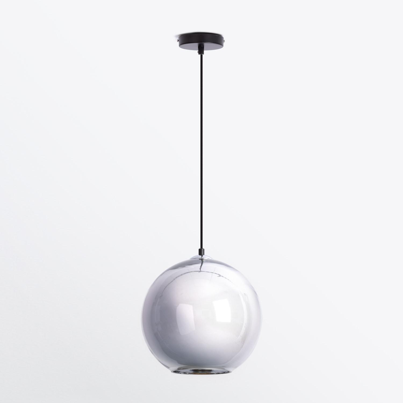 Lampada da Soffitto in Vetro Cromo, immagine della galleria 1