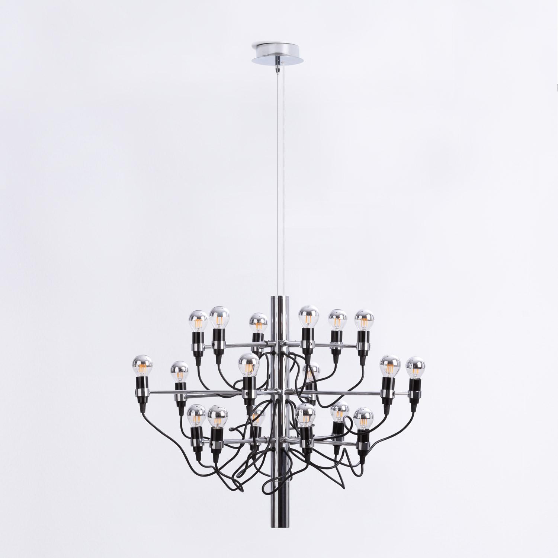 Lampada da Soffitto in Acciaio Salone 18, immagine della galleria 1