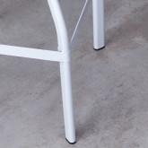 Sgabello Alto in Acciaio Screw (62-75 cm), immagine in miniatura 6