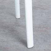 Tavolo da Pranzo Rotondo in Legno e Polipropilene (Ø70 cm) Abi, immagine in miniatura 5