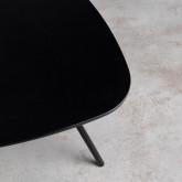 Tavolo Ausiliario Triangolare in MDF (53x63 cm) Kam, immagine in miniatura 7
