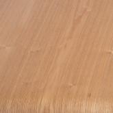 Tavolino da Caffé Rettangolare in Legno (120x58 cm) Shan, immagine in miniatura 6