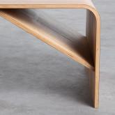 Tavolino da Caffé Rettangolare in Legno (120x58 cm) Shan, immagine in miniatura 7